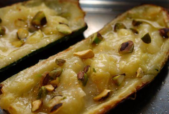 Image: Bakt squash med parmesan