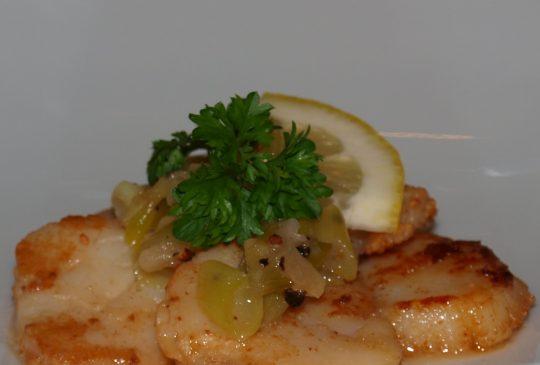 Image: Kamskjell med sitron og ingefær