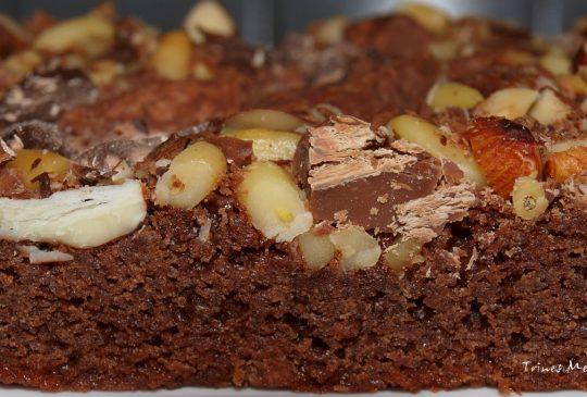Image: Brownies med nøttegodt