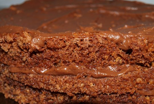Image: Sjokoladekake med herlig sjokoladekrem