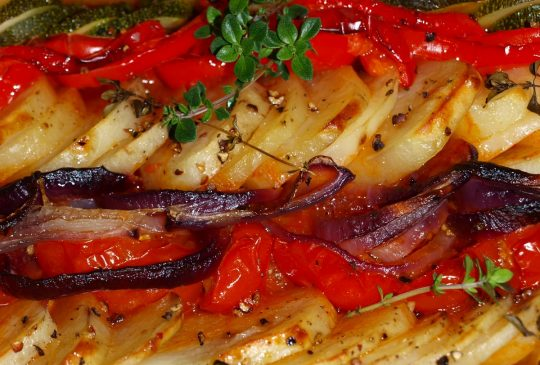 Image: Ovnsbakt ratatouille med poteter