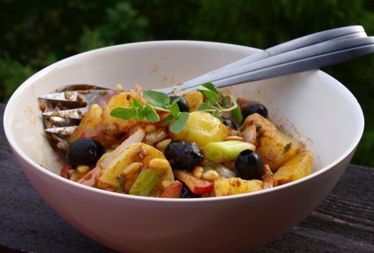 Image: Potetsalat med balsamicovinaigrette