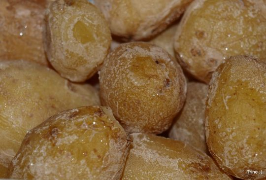 Image: Kanaripoteter – Saltkokte poteter