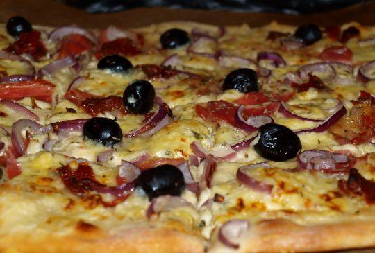 Image: En litt annerledes pizza