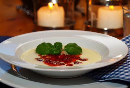 Image: Potetsuppe med chorizo
