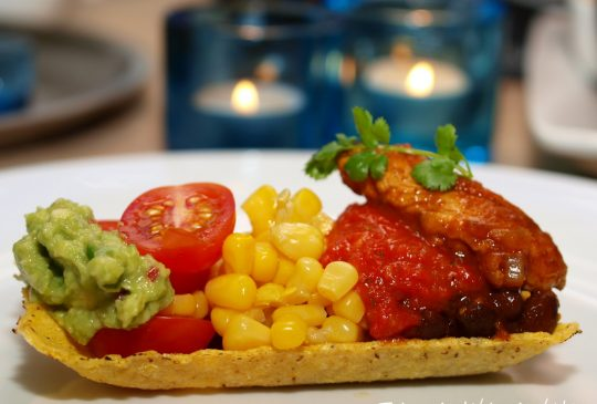 Image: Kyllingtaco med bønner og gulrot
