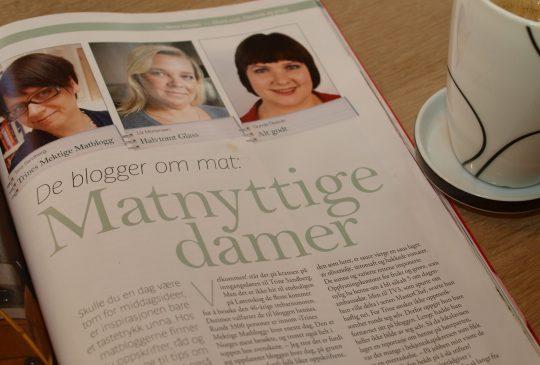 Image: Matnyttige damer i Mat&Helse 1/11
