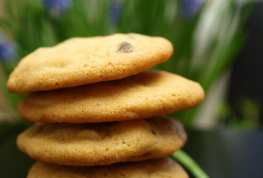 Image: Chocolate chip cookies – kjeks med sjokoladebiter