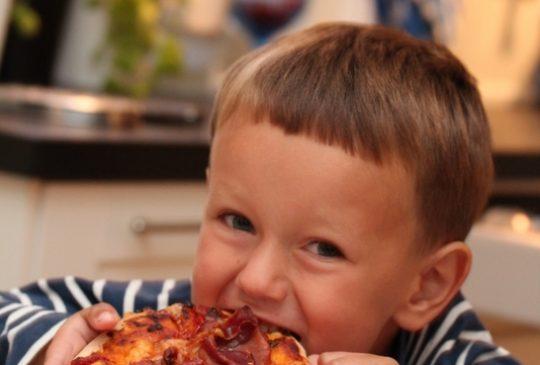 Image: En (bake)glad gutt – Mathiaspizza