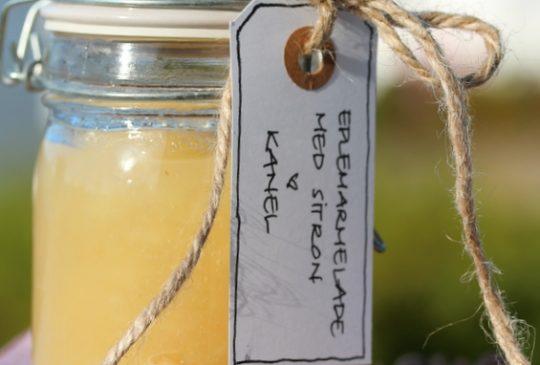 Image: Eplemarmelade med sitron og kanel