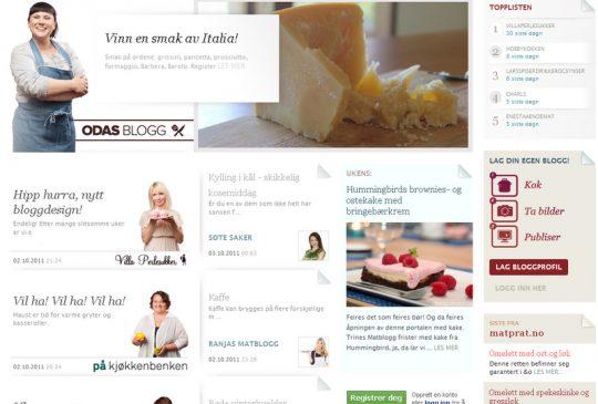 Image: Matbloggerne – ny portal for matblogging og matglede