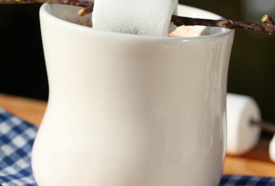 Image: Varm sjokolade med marshmallows