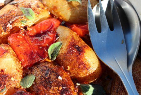 Image: Chilipoteter med paprika