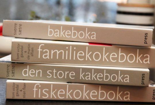 Image: KOKEBOKTILBUD – «DEN HVITE KOKEBOKSERIEN»
