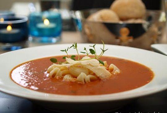 Image: Tomatsuppe med soltørkede tomater og chili