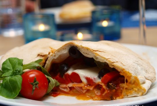 Image: Calzone – pizzaoverraskelse ;)