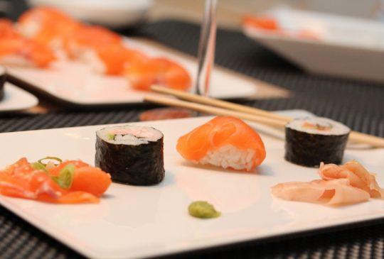 Image: Sushiverksted – nigiri, maki og sashimi