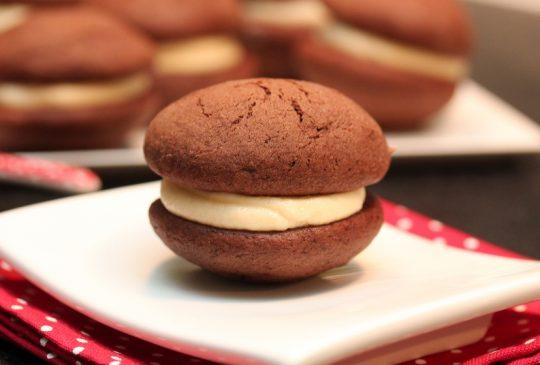 Image: Chocolate whoopie pies