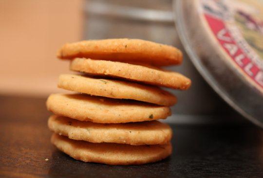 Image: Parmesan- og timiankjeks