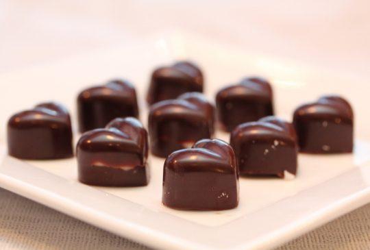 Image: * Anettes sjokoladekonfekt med peppermynte *