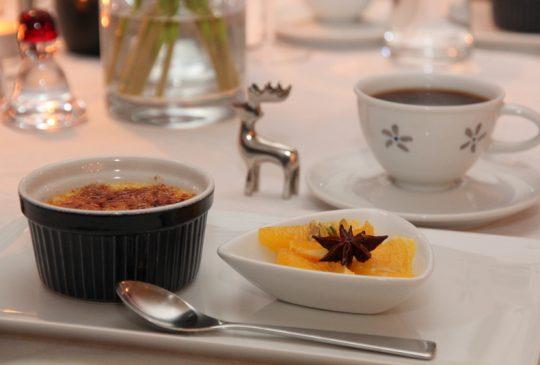 Image: Crême brulèe og appelsinsalat med smak av jul