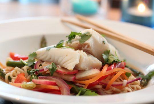 Image: Hot fiskesuppe med asiatiske smaker
