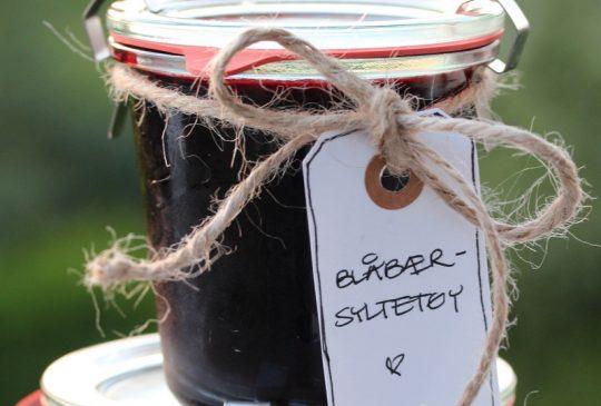 Image: Blåbærsyltetøy med sitron