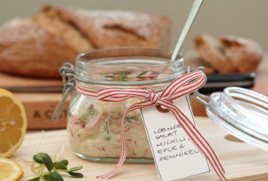 Image: Påleggsalat med LobNobs, chili, fennikel og eple